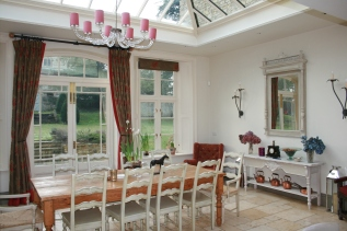 The Orangery - where breakfast is served